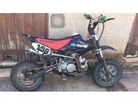 125cc Stomp pit bike (Orion,dirt bike,50)