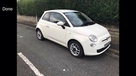 2010 59reg Fiat 500 Sport 1.3 Jtd White Too Spec