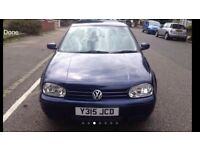 VW GOLF 2.0GTI WITH LONG MOT AND TAX QUICK SALE