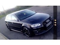 2010 60 plate audi s3 s tronic black edition