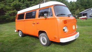 1974 VW Westfalia Campmobile - Restored