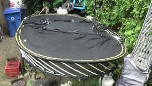 SPRING FREE TRAMPOLINE: LARGE OVAL (13ft x 8ft)