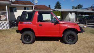 1994 Chevrolet Tracker Coupe (2 door)