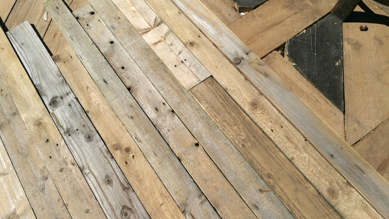 Reclaimed pallet Wood, denailed and sanded | in Farnborough, Hampshire |  Gumtree