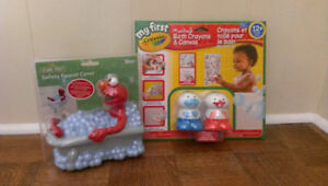 Brand new bath toys