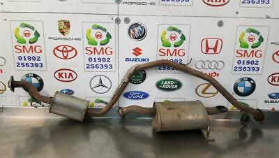 HONDA CRZ GT 1.5 EXHAUST CENTRE SECTION + BACKBOX ASSEMBLY FAST POSTAGE