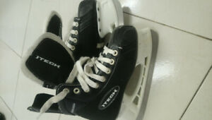 Size 1 Itech youth hockey skates