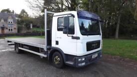 2010 MAN/ ERF TGL 7.150 Flatbed Body Truck