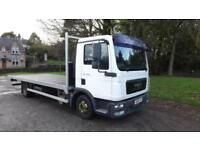 2010 MAN/ ERF TGL 7.150 Flatbed Body Truck