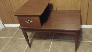 Brown side table