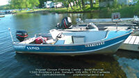 Cottage Trailer Camping site Hotel Room Fishing Boat Rent $75