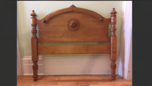 Beds- matching antique twin beds