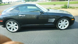 2004 CHRYSLER  CROSSFIRE Sport PKG-3.0L V6-6 SPEED-AMAZING SHAPE