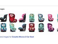 Looking for a cosatto car seat suitable 9months-4years