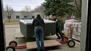 PROFESSIONAL HOT TUB MOVERS