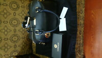 Versace Black Bag with Sunglasses