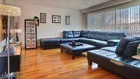 Superbe 5 1/2 haut duplex style condo a St-Leonard