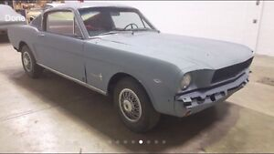 Wanted 1965-1968 fast back mustang