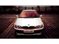 BMW e46 coupe m sport 3 series not 1 series 5 series M3 m5 drift race drag Etc