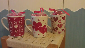 Gift Cups - Gift Mugs - Coffee Mugs with 48 gr. Candy Bonbon