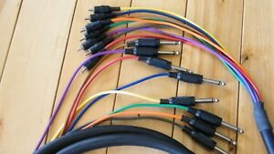 8 Channel Snakes, Cables
