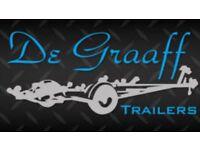 New De Graaff boat trailers