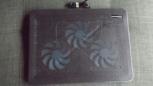 Base de ventilation (Cooling Mat) USB 3 ventilateurs pour Laptop