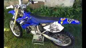 2012 Yz 250 with new full pro circuit exhaust.