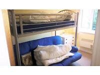Metal Loft bed frame