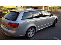 Audi A4 Avant S Line,FSH,HPI Clear,Timing belt kit done at 73K and 123K (inc bills),New MOT