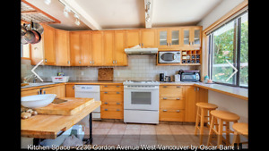 Furnished view house West Vancouver dundarave