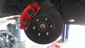 4RUNNER/AVALON/CAMRY/COROLLA/HIGHLANDER Elite Black XDS Brakes!