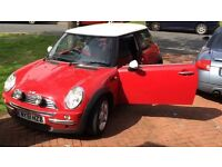 Mini Cooper 2002 - Low Mileage 77,000 miles