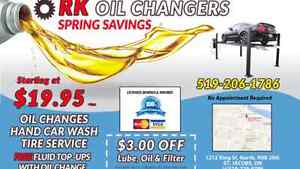 FREE VACUUM with Oil change and Tire Service