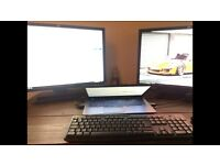 "HP ZR24W 24"" widescreen monitors"