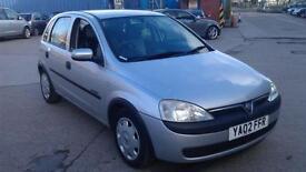 Vauxhall Corsa 1.0i 12v Comfort 5 DOOR - 2002 02-REG - FULL 12 MONTHS MOT