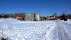 Acreage with Home and Shop North of Sexsmith, AB