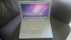 Mid-2008 White Macbook For Sale - Good Working Condition!