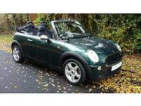 Mini One 1.6 Convertible 2006 '06' Petrol 67k Service History Mot May 2017