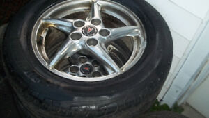 pontaic grand prix rims and tires