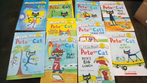 10 Pete the cat books