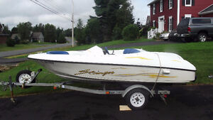 JET BOAT & TRAILER FOR SALE