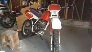 1988 Honda XR250R With ownership