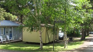 Clear Lake - Old Campground Cabin and Lot For Sale