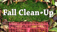 Need someone to do your Fall cleanup? Affordable rates, call me!