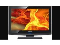 """32"""" SAMSUNG LCD HD TV BUILT IN FREEVIEW"""