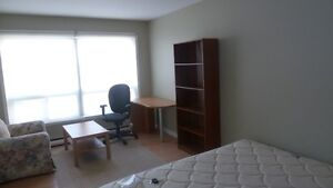Furnished Master  bedroom at FEMALES-ONLY house