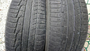 Nokian two tires P215/55R18 with 70% tread
