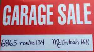 Vente de Garage - 6865 route 134 McIntosh Hill