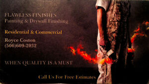 Flawless Finishes Painting & Drywall Finishing